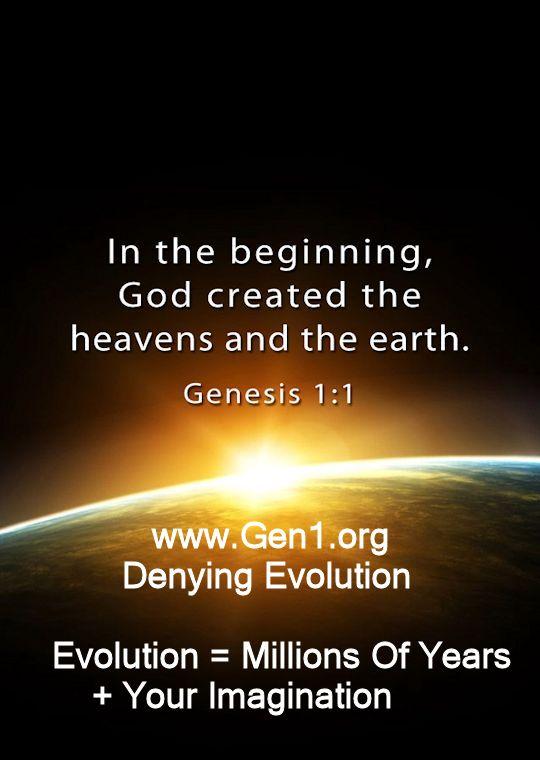 www.Gen1.org  (Denying Evolution)